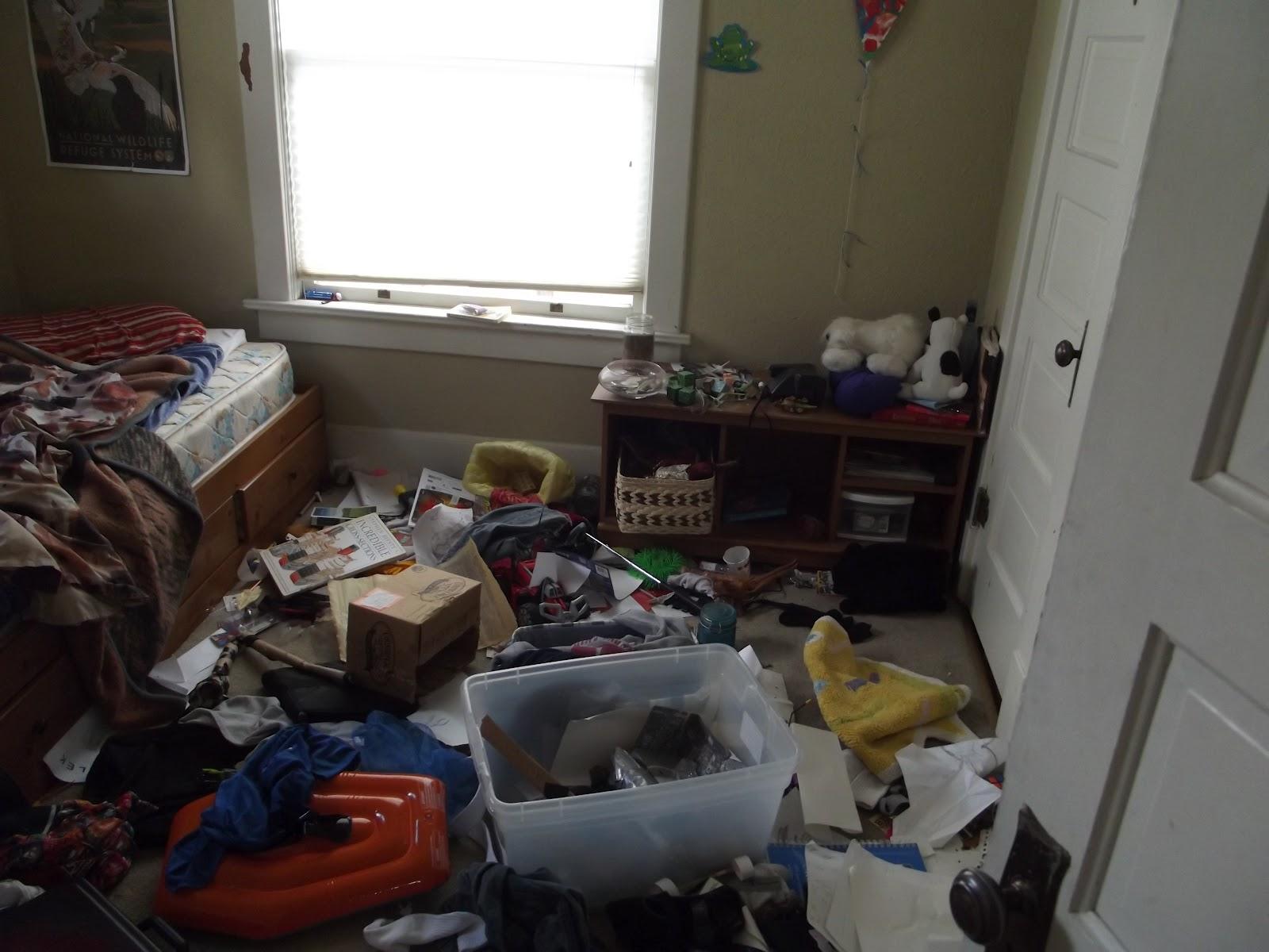 Messy boy's room