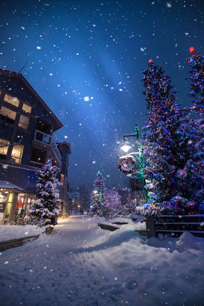 Winter date ideas - Enjoy a winter wonderland